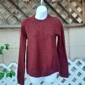 L.O.G.G. dark red sweater